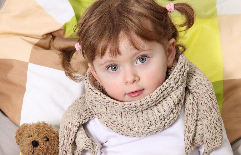 angina ropna u dzieci
