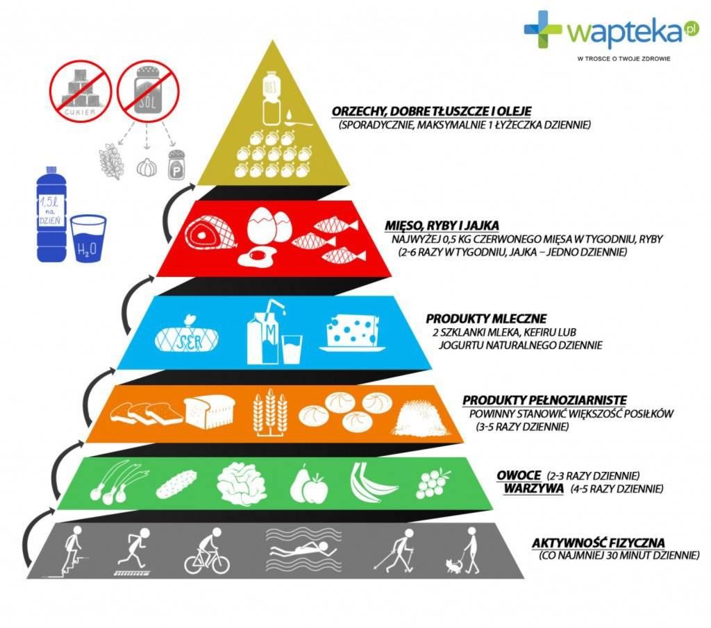 Jak jeść zdrowo? Nowa piramida żywienia 2016