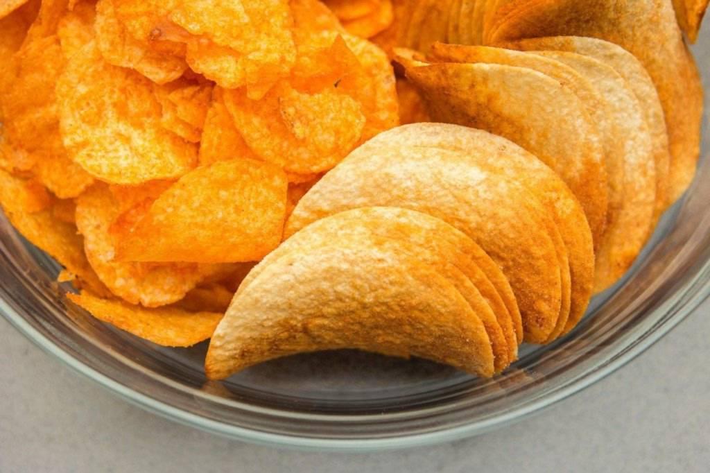 Zawarta w chipsach sól odwadnia organizm