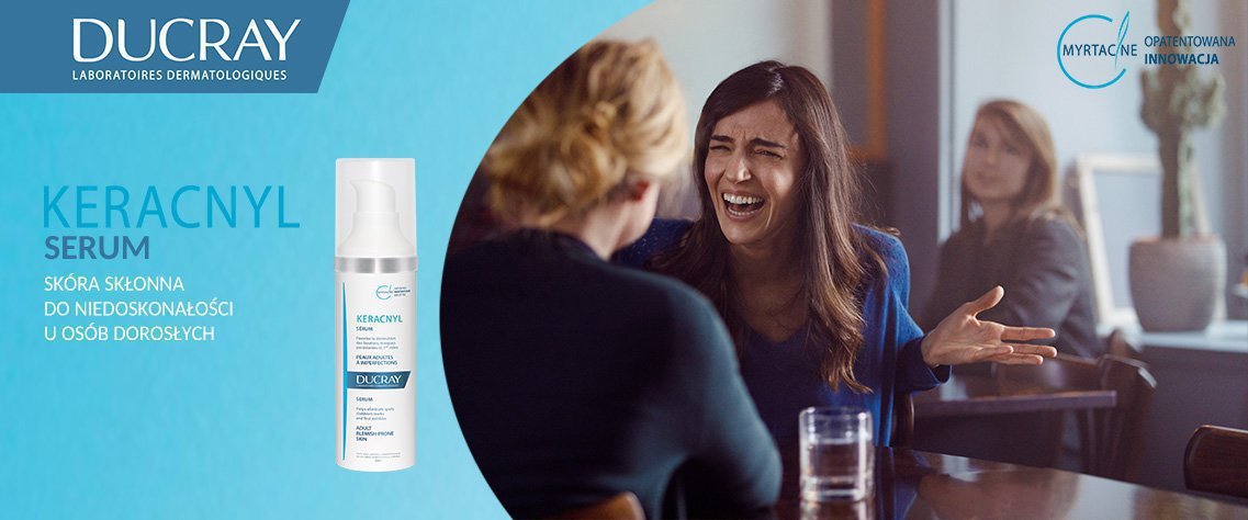 Ducray – produkty dla skóry skłonnej do trądziku – apteka internetowa wapteka