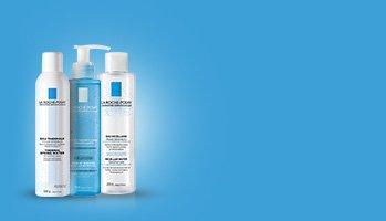La Roche-Posay laboratorium dermatologique -Oczyszczanie wrażliwej skóry twarzy