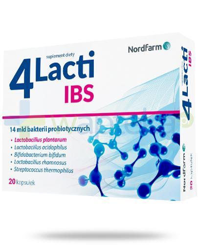 4 Lacti IBS 20 kapsułek
