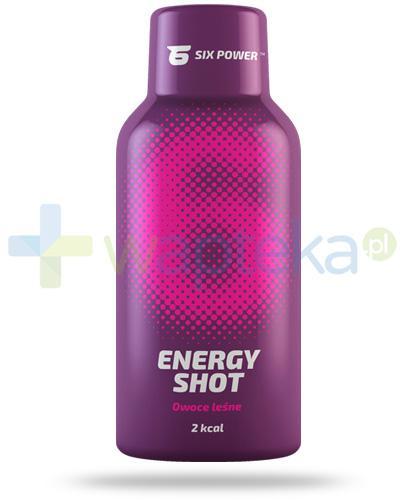 6Power Energy Shot, smak owoców leśnych, płyn 50 ml