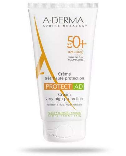 A-Derma Protect AD krem z wysoką ochroną przeciwsłoneczną SPF50+ 150 ml