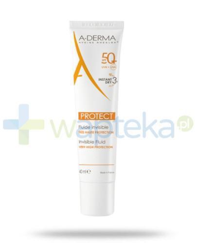 A-derma protect bezbarwny fluid SPF 50+ 40ml