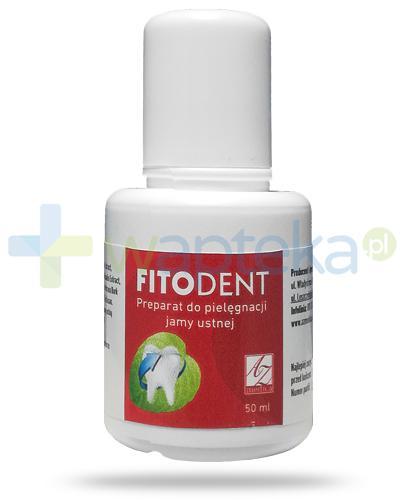 A-Z FitoDent płyn do płukania jamy ustnej 50 ml