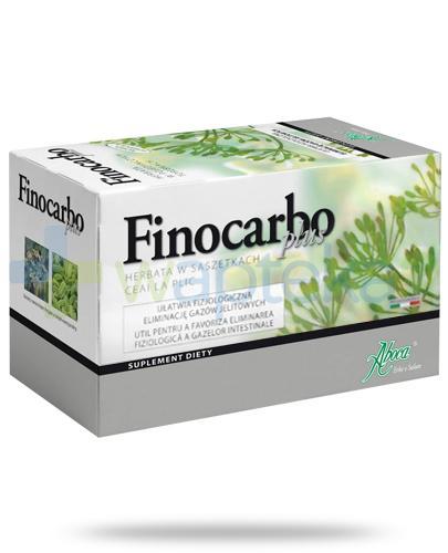 Aboca FinoCarbo Plus herbata do zaparzania 20 saszetek