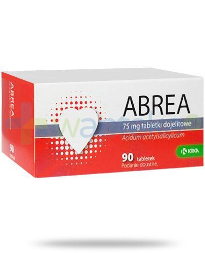 Abrea 75mg 90 tabletek