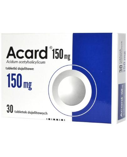 Acard 150mg 30 tabletek