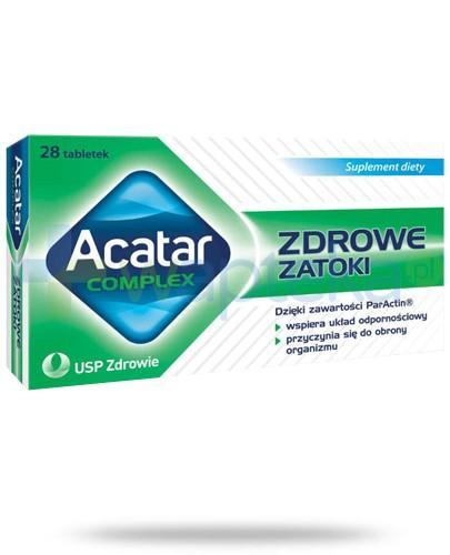 Acatar Complex Zdrowe zatoki 28 tabletek