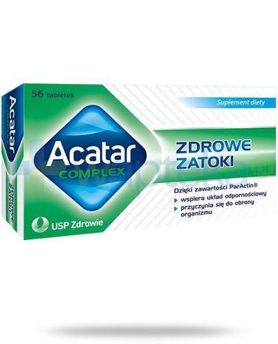 Acatar Complex Zdrowe zatoki 56 tabletek