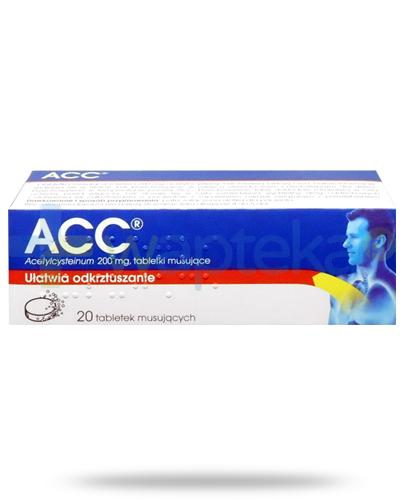 ACC 200mg (Acetylcysteinum) 20 tabletek musujących