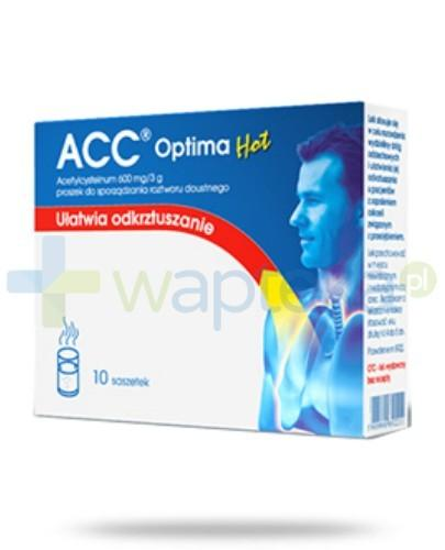 ACC 600 Optima HOT 10 saszetek