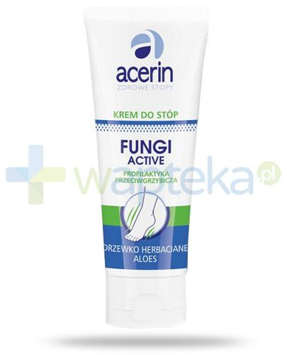 Acerin Fungi Active krem przeciwgrzybiczy do stóp 50 ml