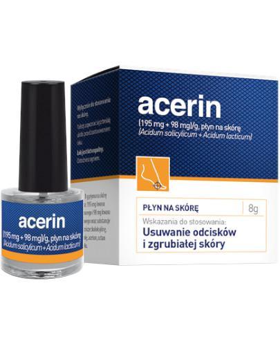 Acerin płyn na skórę 8 g