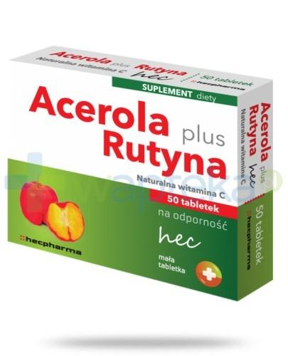 Acerola Plus Rutyna hec 50 tabletek