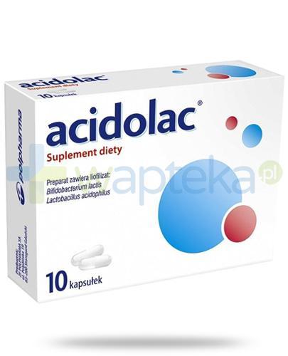 Acidolac 10 kapsułek