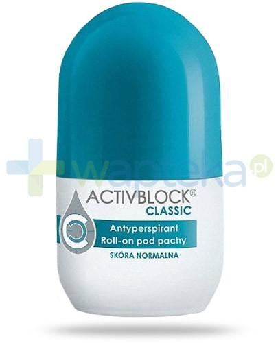 Activblock Classic roll-on antyperspirant do skóry normalnej 25 ml