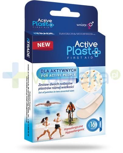Active Plast First Aid plastry dla aktywnych 16 sztuk