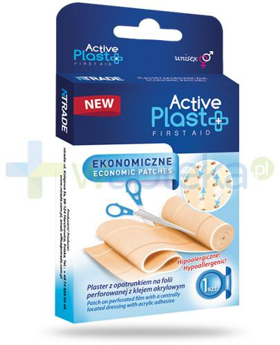 Active Plast First Aid plastry ekonomiczne 1 sztuka