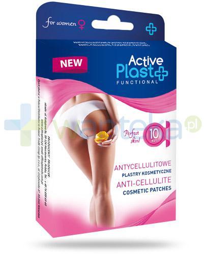Active Plast Functional Antycellulitowe plastry kosmetyczne 10 sztuk