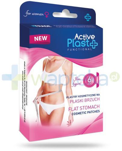Active Plast Functional plastry na płaski brzuch 6 sztuk