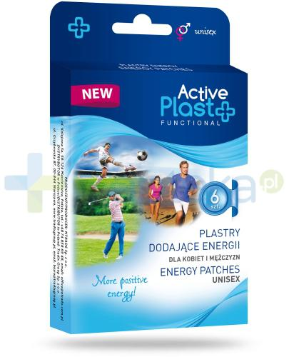 Active Plast Functional plastry na wzrost energii 6 sztuk