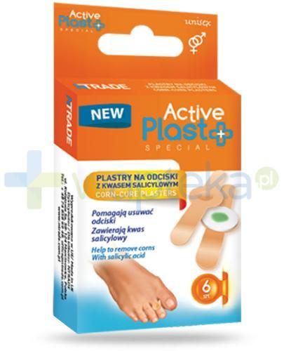 Active Plast Special plastry na odciski z kwasem salicylowym 6 sztuk