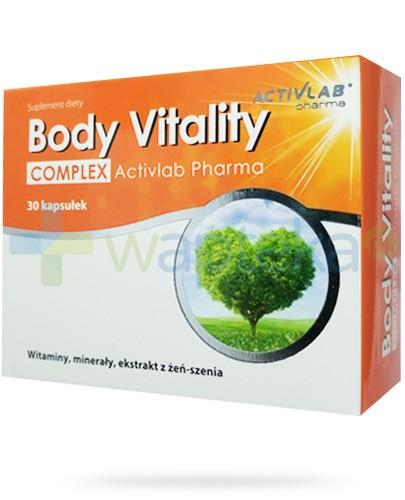 Activelab Pharma Body Vitality Complex 30 kapsułek