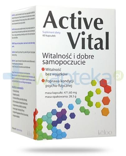 ActiveVital witalność i dobre samopoczucie 60 kapsułek