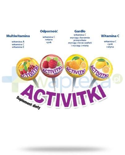 Activitki Multiwitamina Lizak witaminowy