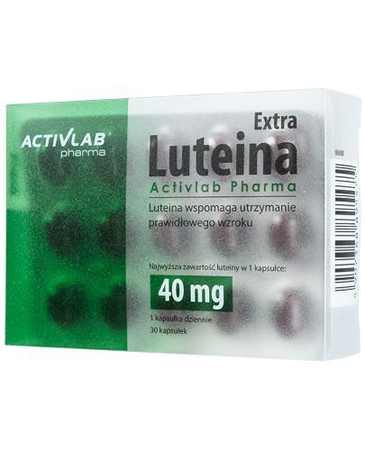 Activlab Pharma Luteina Extra 30 kapsułek