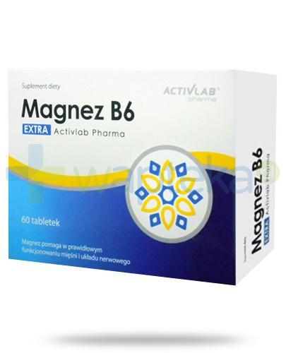 Activlab Pharma Magnez B6 Extra 60 tabletek