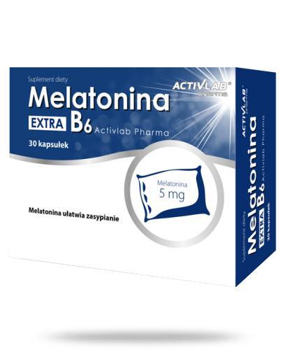Melatonina Extra B6 5mg 30 kapsułek
