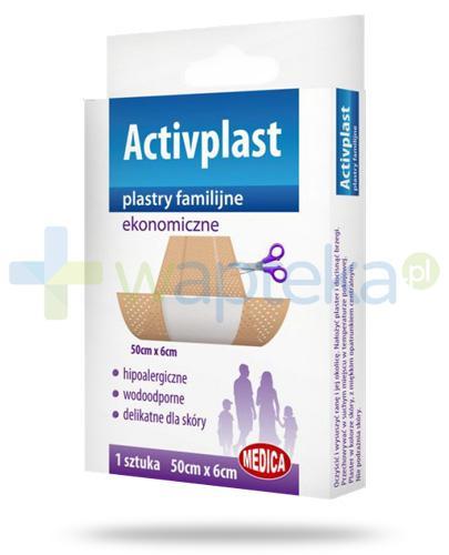 Activplast plastry familijne ekonomiczne, plaster do cięcia 50cm x 6cm 1 sztuka