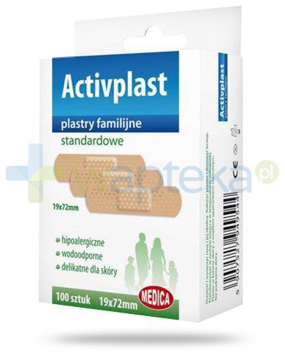 Activplast plastry familijne standardowe, plastry 19mm x 72mm 100 sztuk