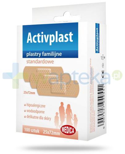 Activplast plastry familijne standardowe, plastry 25mm x 72mm 100 sztuk