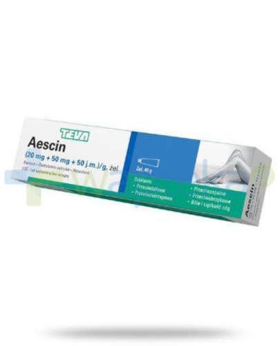 Aescin żel 40 g