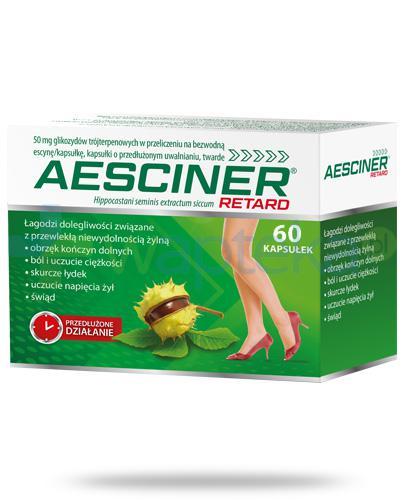 Aesciner Retard 60 kapsułek