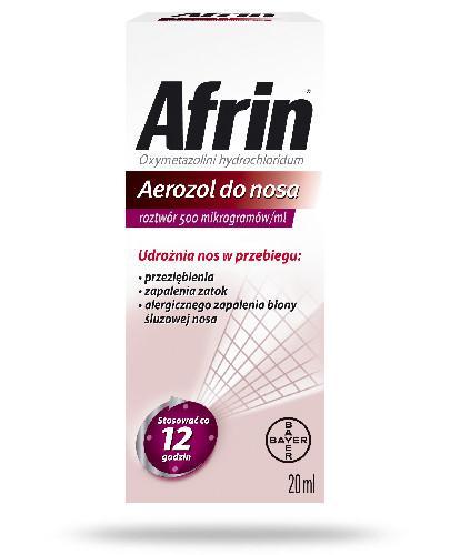 Afrin Nasal 0.05% aerozol do nosa 20ml