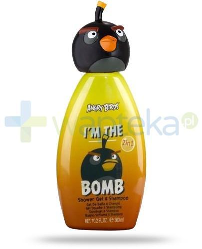 Air-Val Angry Birds Bomb żel 2w1 pod prysznic do włosów i ciała 300 ml [5961]