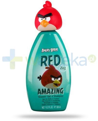 Air-Val Angry Birds Red żel 2w1 pod prysznic do włosów i ciała 300 ml [5962]