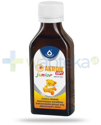 Akron Sept Junior preparat z dodatkiem soku z malin 100 ml