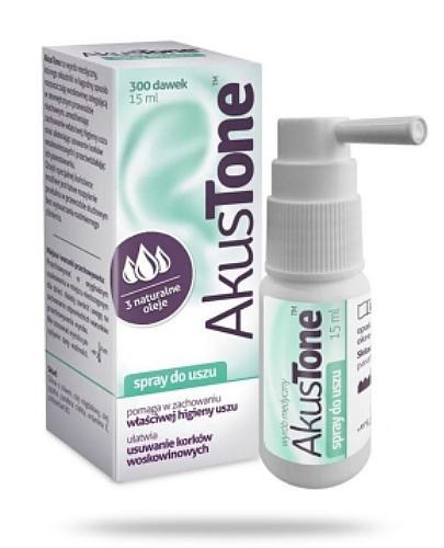 AkusTone spray do higieny uszu 15 ml