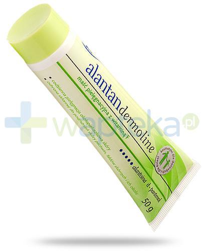 Alantan Dermoline maść pielęgnacyjna z witaminą F 50 g