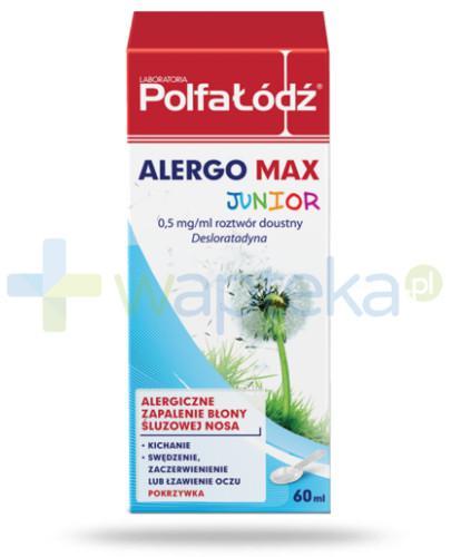 Alergo Max Junior Laboratoria Polfa Łódź 60 ml