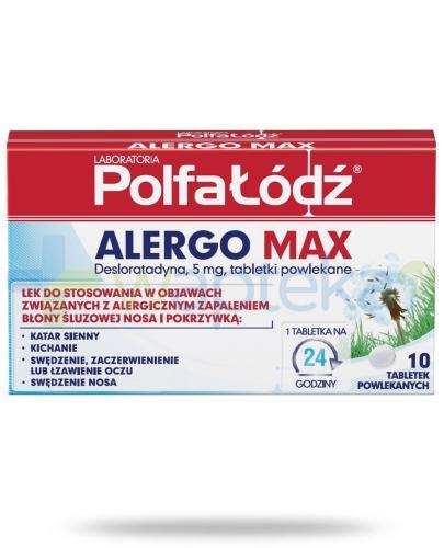 Alergo Max Laboratoria Polfa Łódź 10 tabletek