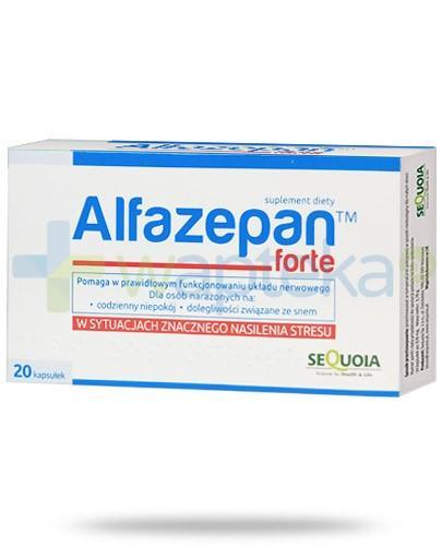 Alfazepan Forte 20 kapsułek