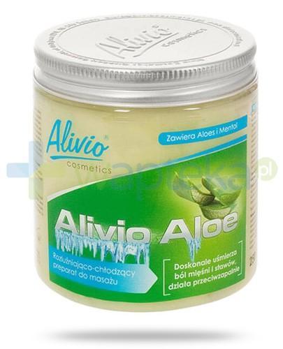 Alivio Aloe rozluźniająco chłodzący preparat do masażu z aloesem i mentolem 250 ml