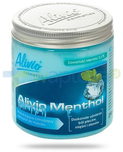 Alivio Menthol rozluźniająco chłodzący preparat do masażu z mentolem 250 ml